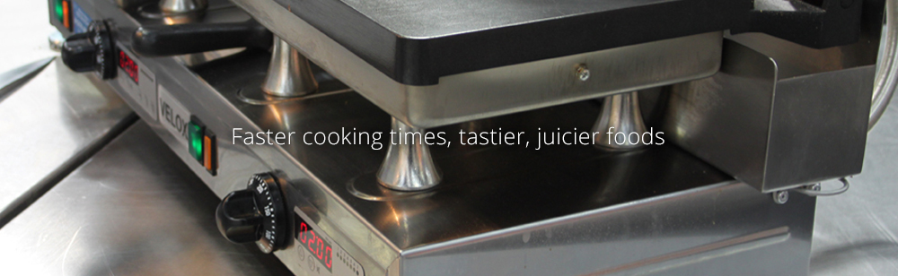 Faster cooking times, tastier, juicier foods